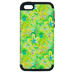 Summer Fun Apple Iphone 5 Hardshell Case (pc+silicone) by rokinronda