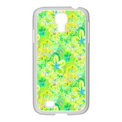 Summer Fun Samsung Galaxy S4 I9500/ I9505 Case (white) by rokinronda