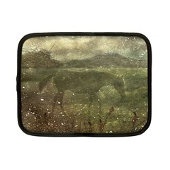 Flora And Fauna Dreamy Collage Netbook Sleeve (small) by dflcprints