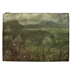 Flora And Fauna Dreamy Collage Cosmetic Bag (xxl) by dflcprints
