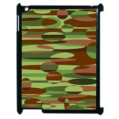 Green And Brown Spheres By Khoncepts Com Apple Ipad 2 Case (black) by Khoncepts
