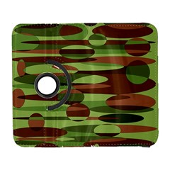 Green And Brown Spheres By Khoncepts Com Samsung Galaxy S  Iii Flip 360 Case