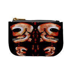 Skull Motif Ornament Coin Change Purse