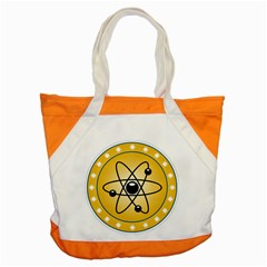 Atom Symbol Accent Tote Bag by StuffOrSomething