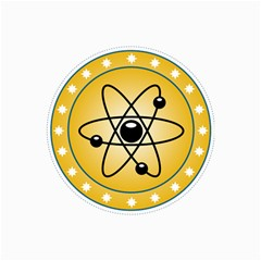Atom Symbol Canvas 16  X 20  (unframed) by StuffOrSomething