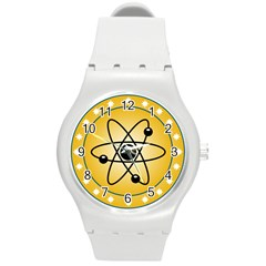 Atom Symbol Plastic Sport Watch (medium) by StuffOrSomething