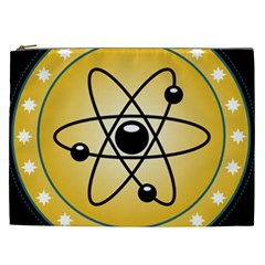 Atom Symbol Cosmetic Bag (xxl) by StuffOrSomething