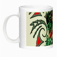 Tribal Dragon Glow In The Dark Mug by TheWowFactor