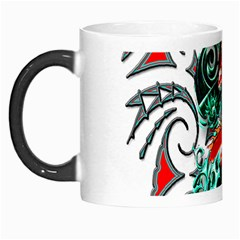 Tribal Dragon Morph Mug by TheWowFactor