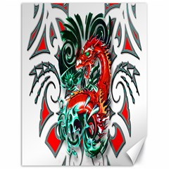Tribal Dragon Canvas 18  X 24  (unframed) by TheWowFactor