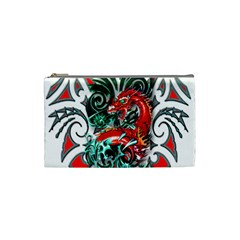 Tribal Dragon Cosmetic Bag (small) by TheWowFactor