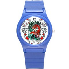 Tribal Dragon Plastic Sport Watch (small) by TheWowFactor