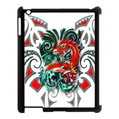 Tribal Dragon Apple Ipad 3/4 Case (black) by TheWowFactor