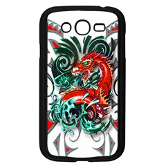 Tribal Dragon Samsung Galaxy Grand Duos I9082 Case (black) by TheWowFactor