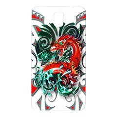 Tribal Dragon Samsung Galaxy Note 3 N9005 Hardshell Back Case by TheWowFactor