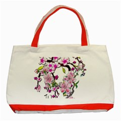 Cherry Bloom Spring Classic Tote Bag (red) by TheWowFactor