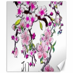 Cherry Bloom Spring Canvas 8  X 10  (unframed) by TheWowFactor
