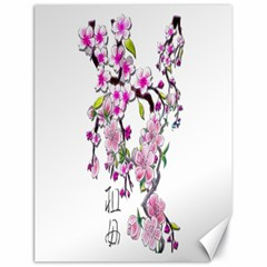 Cherry Bloom Spring Canvas 18  X 24  (unframed) by TheWowFactor