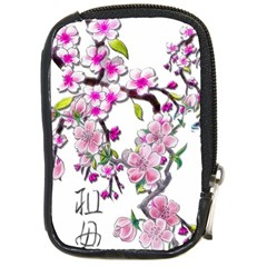 Cherry Bloom Spring Compact Camera Leather Case