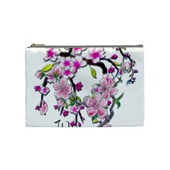 Cherry Bloom Spring Cosmetic Bag (medium) by TheWowFactor