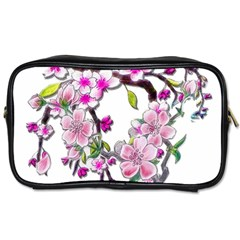 Cherry Bloom Spring Travel Toiletry Bag (two Sides) by TheWowFactor