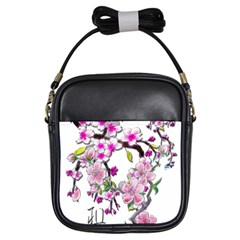 Cherry Bloom Spring Girl s Sling Bag by TheWowFactor