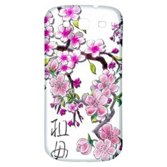Cherry Bloom Spring Samsung Galaxy S3 S Iii Classic Hardshell Back Case by TheWowFactor