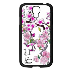 Cherry Bloom Spring Samsung Galaxy S4 I9500/ I9505 Case (black) by TheWowFactor