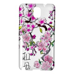 Cherry Bloom Spring Samsung Galaxy Note 3 N9005 Hardshell Case by TheWowFactor