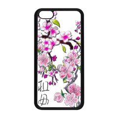 Cherry Bloom Spring Apple Iphone 5c Seamless Case (black) by TheWowFactor