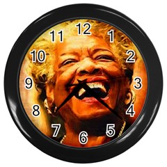Angelou Wall Clock (black) by Dimension