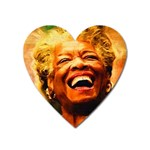 Angelou Magnet (Heart) Front