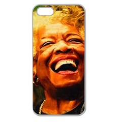 Angelou Apple Seamless Iphone 5 Case (clear) by Dimension