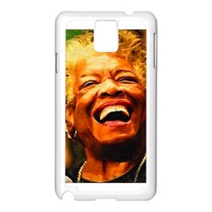 Angelou Samsung Galaxy Note 3 N9005 Case (white) by Dimension