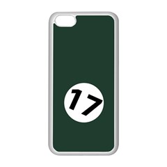 British Racing Green Apple Iphone 5c Seamless Case (white)