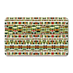 Aztec Grunge Pattern Magnet (rectangular) by dflcprints