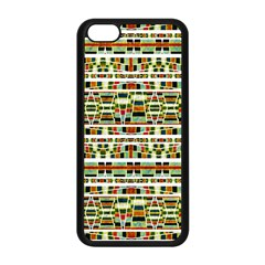 Aztec Grunge Pattern Apple Iphone 5c Seamless Case (black) by dflcprints