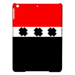 Red, White And Black With X s Electronic Accessories Apple Ipad Air Hardshell Case
