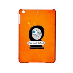 Orange Funny Too Much Coffee Apple Ipad Mini 2 Hardshell Case by CreaturesStore
