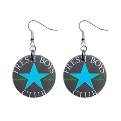 Fresshboy Allstar3 Mini Button Earrings