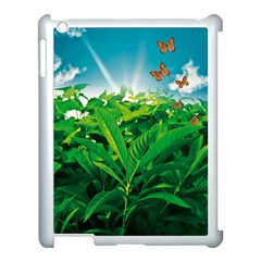 Nature Day Apple Ipad 3/4 Case (white) by dflcprints