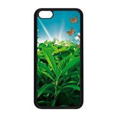 Nature Day Apple Iphone 5c Seamless Case (black) by dflcprints