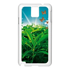 Nature Day Samsung Galaxy Note 3 N9005 Case (white) by dflcprints