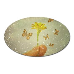 Butterflies Charmer Magnet (oval) by dflcprints