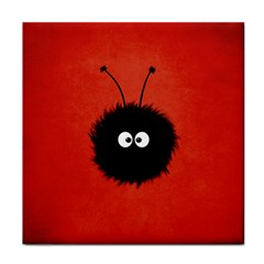 Red Cute Dazzled Bug Face Towel by CreaturesStore