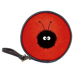 Red Cute Dazzled Bug Cd Wallet