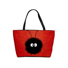 Red Cute Dazzled Bug Large Shoulder Bag by CreaturesStore