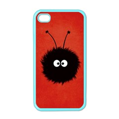 Red Cute Dazzled Bug Apple Iphone 4 Case (color) by CreaturesStore