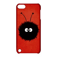 Red Cute Dazzled Bug Apple Ipod Touch 5 Hardshell Case With Stand