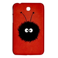 Red Cute Dazzled Bug Samsung Galaxy Tab 3 (7 ) P3200 Hardshell Case  by CreaturesStore